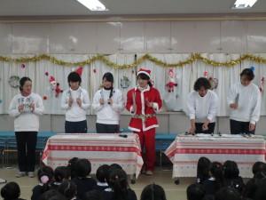クリスマス会職員