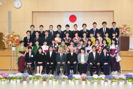 001-16期生卒業式
